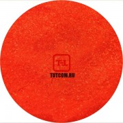 Красно-оранжевый Неоновый глянцевый по 500 грамм от 0.1 до 4.0 мм. в ассортименте.