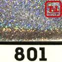 Блеск 801 СЕРЕБРО ГОЛОГРАФИК металлик - 0.1 мм (мелкие)