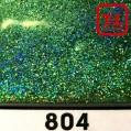 Блеск 804 ЗЕЛЁНЫЙ ГОЛОГРАФИК 0.2 мм. (мелкие+) от 3 грамм