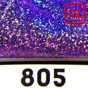 Блеск 805 ЛАВАНДОВЫЙ ГОЛОГРАФИК металлик - 0.1 мм (мелкие)