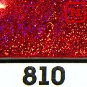 Блеск 810 КРАСНЫЙ НАСЫЩЕННЫЙ ГОЛОГРАФИК металлик - 0.1 мм (мелкие) от 3 грамм