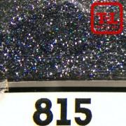 Блеск 815 ЧЁРНЫЙ ГОЛОГРАФИК металлик - 0.1 мм (мелкие)
