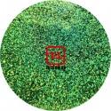 Зелёный голографик металлик 0.2 мм. (мелкие ) от 3 грамм