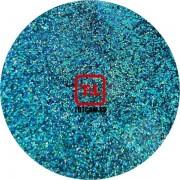 Голубой голографик металлик 0.2 мм. (мелкие+) от 3 грамм