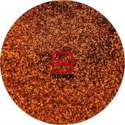 Красно-коричневый голографик металлик 0.1 мм. (мелкие) от 3 грамм