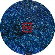 Синий насыщенный голографик металлик 0.2 мм. (мелкие ) от 3 грамм