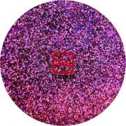 Сиреневый насыщенный голографик металлик 0.2 мм. (мелкие ) от 3 грамм