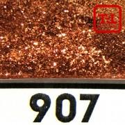 Блеск 907 Медная Бронза металлик 0.2 мм. (мелкие)