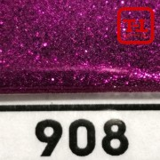 Блеск 908 Спелая Вишня металлик - 0.1 мм (мелкие) от 3 грамм