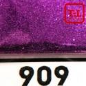 Блеск 909 Сочная Вишня металлик 1.0 мм. (крупные)