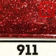 Блеск 911 Красный металлик - 0.1 мм (мелкие)