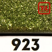 Блеск 923 Салатовый Стальной металлик - 0.1 мм (мелкие) от 3 грамм