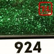 Блеск 924 ЗЕЛЁНЫЙ металлик - 0.1 мм (мелкие) от 3 грамм