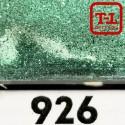 Блеск 926 СВЕТЛО-ЗЕЛЁНЫЙ СТАЛЬНОЙ металлик - 0.1 мм (мелкие) от 3 грамм