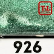 Блеск 926 СВЕТЛО-ЗЕЛЁНЫЙ СТАЛЬНОЙ металлик - 0.1 мм (мелкие)