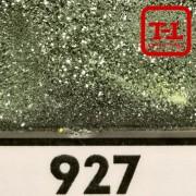 Блеск 927 ЗАЩИТНО-ЗЕЛЁНЫЙ СТАЛЬНОЙ металлик 500 грамм размеры 0.1/0.2/0.4/0.6/1.0/4.0 мм в ассортименте