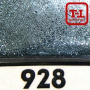 Блеск 928 СВЕТЛО-ГОЛУБОЙ СТАЛЬНОЙ металлик - 0.1 мм (мелкие) от 3 грамм