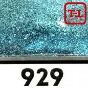Блеск 929 ГОЛУБАЯ ПАСТЕЛЬ металлик 500 грамм размеры 0.1/0.2/0.4/0.6/1.0/4.0 мм в ассортименте