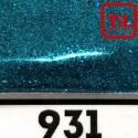 Блеск 931 ГЛУБОКИЙ ГОЛУБОЙ металлик 500 грамм размеры 0.1/0.2/0.4/0.6/1.0/4.0 мм в ассортименте