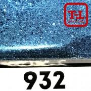 Блеск 932 СВЕТЛО-СИНИЙ СТАЛЬНОЙ металлик 0.2 мм. (мелкие)
