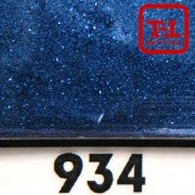 Блеск 934 СИНИЙ НАСЫЩЕННЫЙ металлик 0.2 мм. (мелкие+)
