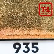 Блеск 935 БРОНЗА СТАЛЬНАЯ металлик - 0.1 мм (мелкие)
