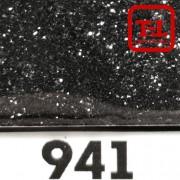 Блеск 941 ЧЁРНЫЙ  металлик 0.2 мм. (мелкие)