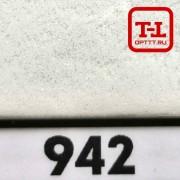 Блеск 942 БЕЛЫЙ МАТОВЫЙ 0.6 мм. (крупные)