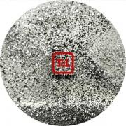 Серебро цветное металлик 0.2 мм. (мелкие+) от 3 грамм