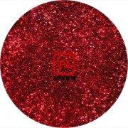 Красный цветной металлик 0.2 мм. (мелкие+) от 3 грамм