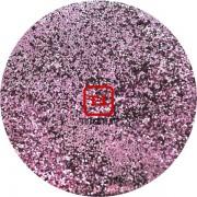 Розовый стальной цветной металлик 0.2 мм. (мелкие+) от 3 грамм
