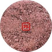 Блеск - Розовый песочный металлик 500 грамм размеры 0.1/0.2/0.4/0.6/1.0/4.0 мм в ассортименте