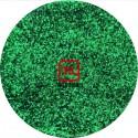 Зелёный цветной металлик 1.0 мм. (крупные) от 3 грамм