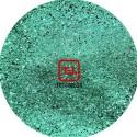Зелёный стальной цветной металлик 0.1 мм. (мелкие) от 3 грамм