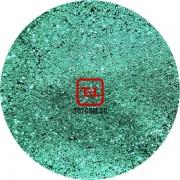 Блеск - Зелёный стальной металлик 500 грамм размеры 0.1/0.2/0.4/0.6/1.0/4.0 мм в ассортименте