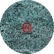 Голубой Стальной цветной металлик 0.1 мм (мелкие) от 3 грамм