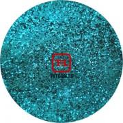 Голубой цветной металлик 0.2 мм. (мелкие+) от 3 грамм