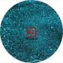 Глубокий голубой цветной металлик 1.0 мм. (крупные) от 3 грамм