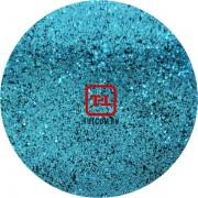 Синий стальной цветной металлик 0.2 мм. (мелкие+) от 3 грамм