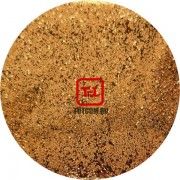 Блеск - Песочно-медный металлик 500 грамм размеры 0.1/0.2/0.4/0.6/1.0/4.0 мм в ассортименте
