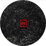 Чёрный цветной металлик 0.2 мм. (мелкие+) от 3 грамм