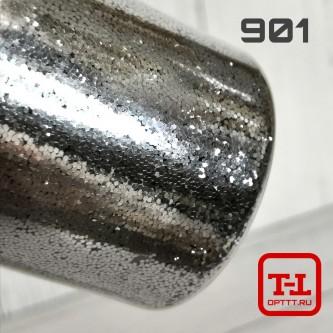 Блеск 901 Серебро металлик 0.6 мм. (крупные)