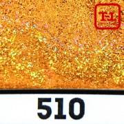 БЛЕСК 510 - ЗОЛОТО МЕДНОЕ неон голографик металлик 500 грамм размеры 0.1/0.2/0.4/0.6/1.0/4.0 мм