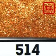 БЛЕСК 514 - ЗОЛОТО КРАСНОЕ неон металлик 500 грамм размеры 0.1/0.2/0.4/0.6/1.0/4.0 мм