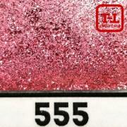 БЛЕСК 555 - КРАСНО-РОЗОВЫЙ СЕРЕБРЯНЫЙ неон металлик 500 грамм размеры 0.1/0.2/0.4/0.6/1.0/4.0 мм