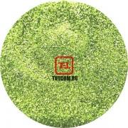 Зелёный Неоновый металлик по 500 грамм от 0.1 до 4.0 мм. в ассортименте.