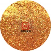 Золото красное Неоновый металлик по 500 грамм от 0.1 до 4.0 мм. в ассортименте.