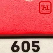 Блеск 605 КРАСНЫЙ НЕОН матовый 0.2 мм. (мелкие)