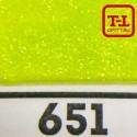 Блеск 651 ЛАЙМ НЕОН - 0.1 мм (мелкие) от 3 грамм