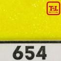 Блеск 654 ЖЁЛТЫЙ ЛИМОН - 0.1 мм (мелкие) от 3 грамм